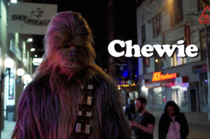 Watch Chewbacca Saunter Through the Louie Opening Theme