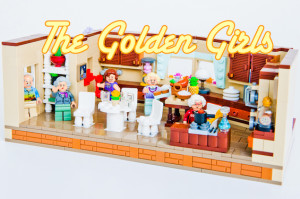 We'd Travel Down the Road and Back Again for This Awesome Golden Girls LEGO Set