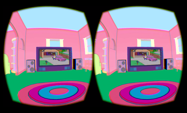 Oculus Rift Homer