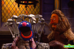 Sesame Street's Game of Thrones Spoof Makes Beheadings and Regicide Adorable