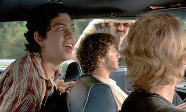 SUPER TROOPERS, Geoffrey Arend, Andre Vippolis, Jay Chandrasekhar, Joey Kern, 2001, TM & Copyright (