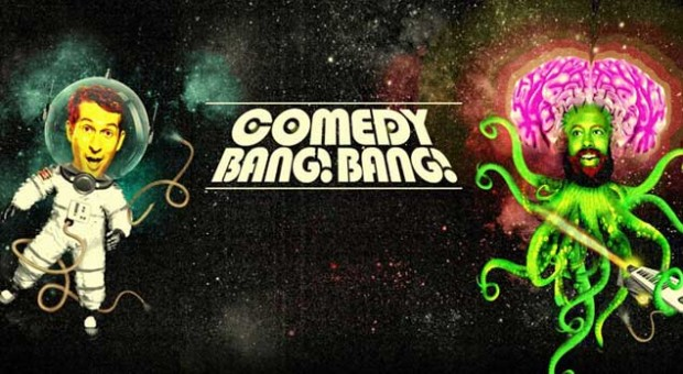 Comedy Bang! Bang! - Thomas Middleditch Wears an Enigmatic Sweatshirt and Sweatpants With Pockets