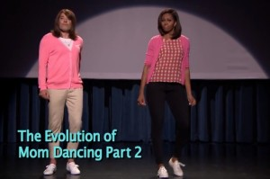 Michelle Obama and Jimmy Fallon Reprise the Evolution of Mom Dancing
