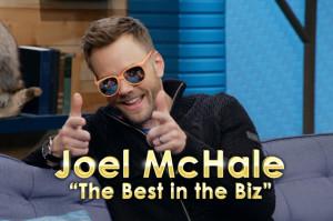 Joel McHale Is Mr. Showbiz This Week on Comedy Bang! Bang!