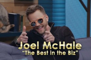 Joel McHale Is the Best in the Biz… and He Can Prove It