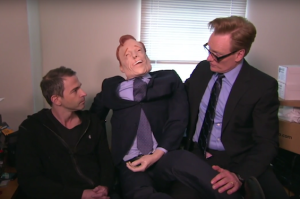 Watch Conan Threaten His Staff With Severe Performance Reviews