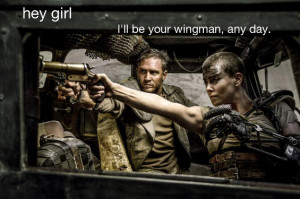 "Feminist Mad Max Is the New Ryan Gosling ""Hey Girl"" Meme"