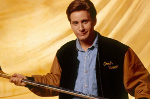 Emilio Estevez Resurrects The Mighty Ducks Coach for Ducks vs. Blackhawks Game
