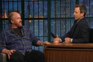 Louis CK Talks About the Time He Slipped a Filthy Joke On Air