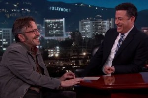 Marc Maron Talks About Being Heckled by a Canadian Baby on Kimmel
