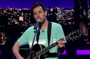 Adam Sandler's Song for Letterman Will Make You Tear Up