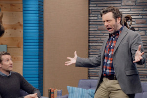 Michael Sheen Shows Off His Mad Monologue Skills
