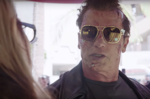 Watch Arnold Schwarzenegger Scare Tourists by Being Himself
