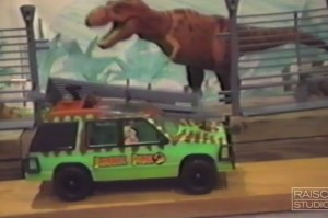 Watch an Epic Jurassic Park Fan Film Made by Two Kids in 1993