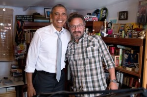 Listen to Marc Maron's Behind-the-Scenes Thoughts On Interviewing Pres. Barack Obama