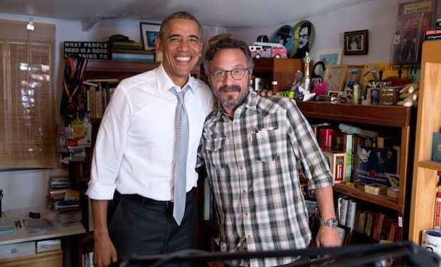 Maron and Obama