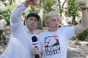 Watch the Most Luxurious Trump Supporter Hit the Street on Seth Meyers