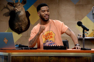 Kid Cudi's Style Invades the Set of Comedy Bang! Bang!