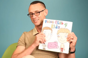 Chuck Palahniuk Reading 'Fight Club 4 Kids' Is Pretty Hardcore