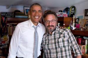 Listen to President Obama on Marc Maron's WTF Podcast