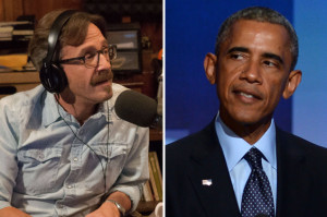 President Obama Is Coming to Marc Maron's WTF Podcast