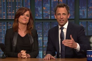 Watch Amy Poehler and Seth Meyers Bring Back Really?! on Late Night
