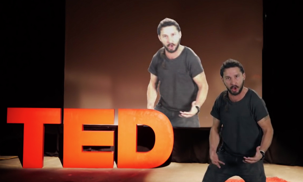Shia LaBeouf Ted Talks
