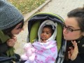 Alise and Kady Ruth love babies. They can't help themselves. It's in their nature.