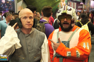 Bobby Moynihan and Chris Gethard Promoted Forgotten Star Wars Characters With Ham at Comic-Con