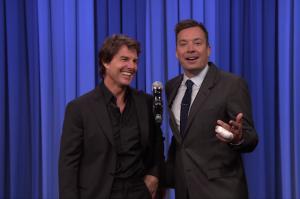 Tom Cruise and Jimmy Fallon Recreated the Top Gun Karaoke Duet
