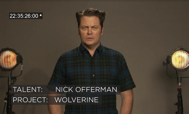 Nick Offerman Wolverine