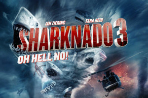 Everyone From David Hasselhoff to Anthony Weiner Is In the Sharknado 3 Trailer