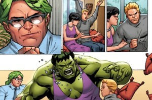 Comic Book Fan Scott Aukerman Wrote About the Hulk's Psychiatrist For Marvel