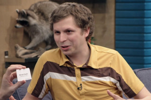 Michael Cera Has the Worst Business Cards Ever on Comedy Bang! Bang!