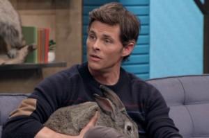 James Marsden Cheats on a Bunny on This Week's Comedy Bang! Bang!