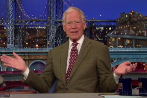 David Letterman Emerged From Retirement to Razz Donald Trump With a Top 10 List