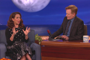 Maya Rudolph Talks Spoils Before Dying on Conan, You Dig?