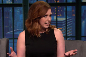 Trainwreck Stars Vanessa Bayer and LeBron James Are Basically Family Now