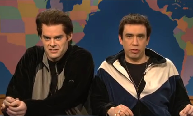 Bill Hader Fred Armisen New Jersey SNL