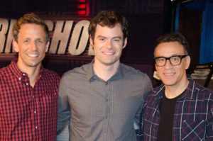 Listen to Seth Meyers, Fred Armisen and Bill Hader Discuss the Making of Documentary Now! on Howard Stern