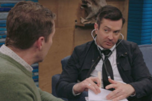 Watch Thomas Lennon and Scott Play Doctor on Comedy Bang! Bang!