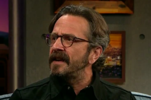Watch Marc Maron Recap His Surprise Obama Interview on The Late Late Show