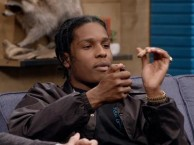 A$AP Rocky discovers Reggie's secret couch stash.