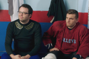 Hockey, Beer and Bros Rule in the Benders Trailer