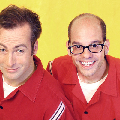 Bob Odenkirk and David Cross in Mr. Show With Bob and David.