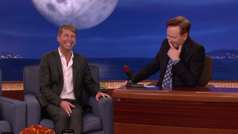 Jack McBrayer on Conan