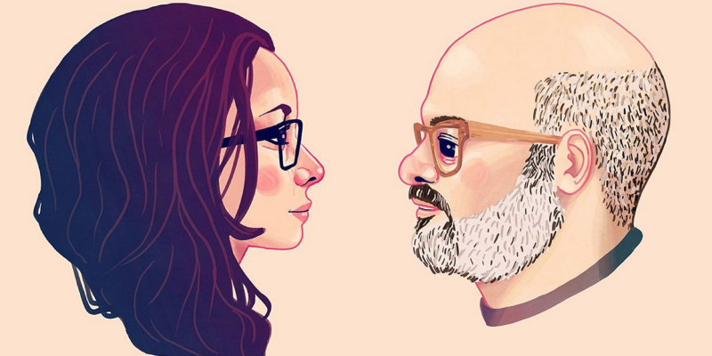 Janeane Garofalo and David Cross Riot LA