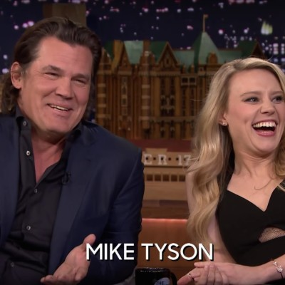 Kate McKinnon and Josh Brolin on the Tonight Show