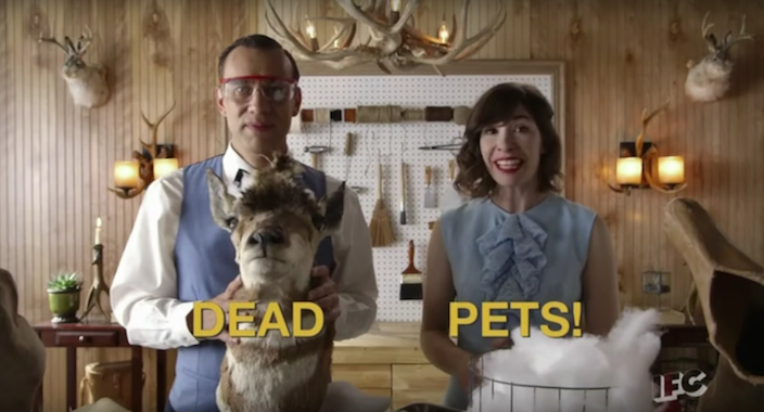 2. Dead Pets - Portlandia Bryce and Lisa