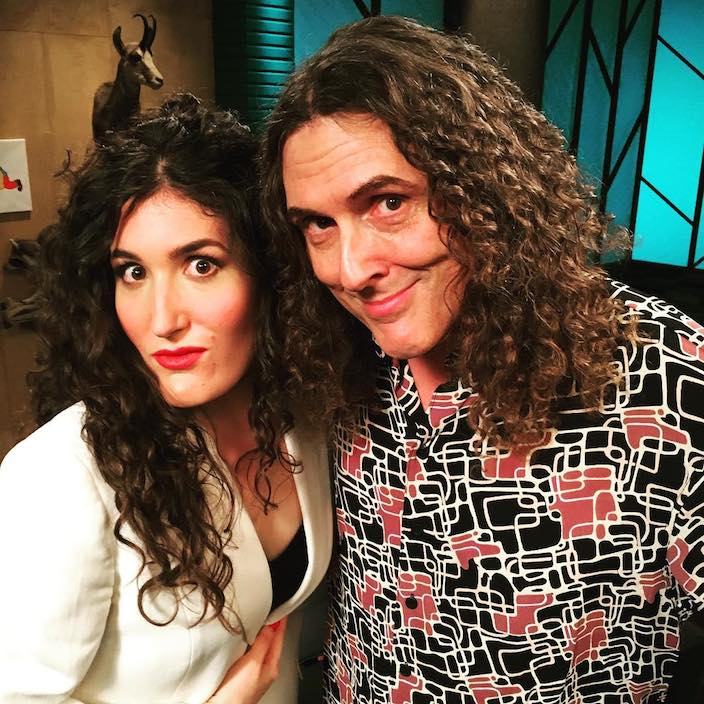 4. Weird Al and Guest on Comedy Bang Bang